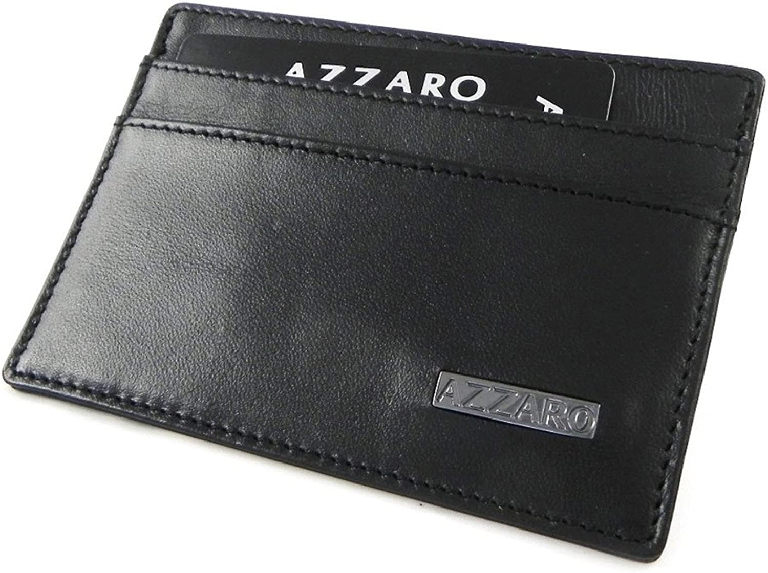Azzaro [H9716]  Card holder 'Azzaro' black (slim).