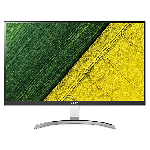 Acer RC271Usmipuzx 27 Inch WQHD Monitor, Black (IPS Panel, 4 ms, ZeroFrame, DP, HDMI, USB Hub)