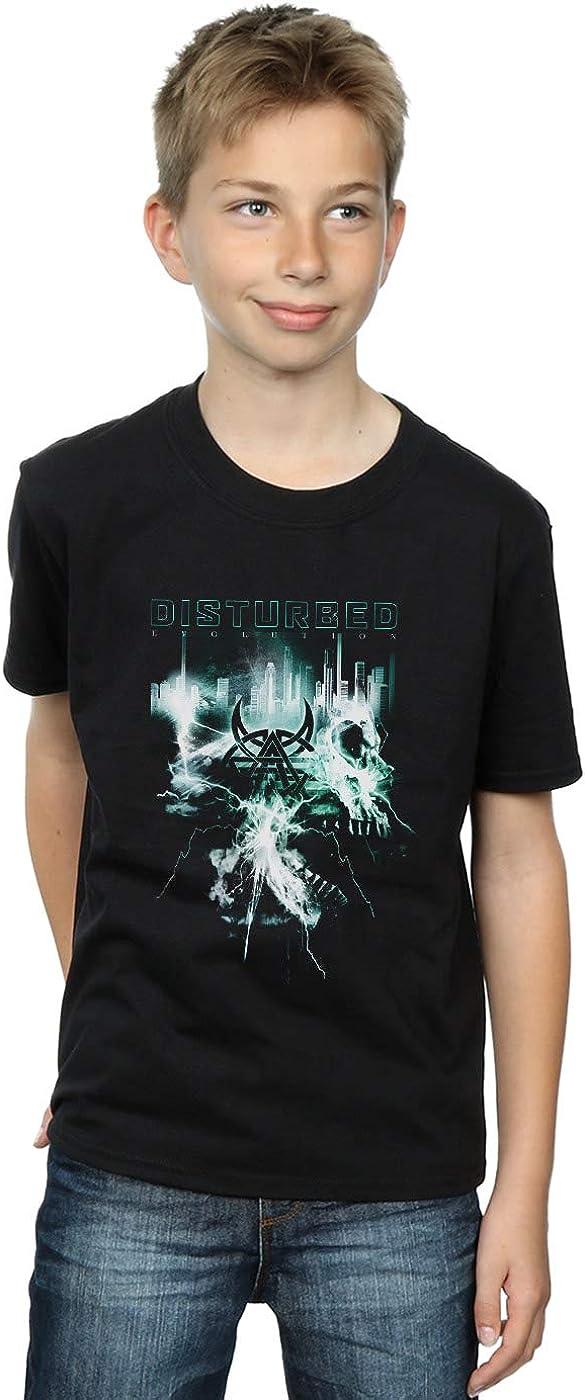 ABSOLUTECULT Disturbed Boys Evolution Apocalypse T-Shirt