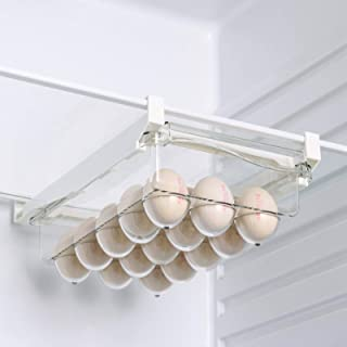 Panier à œufs pour réfrigérateur - Boîte de rangement portable - Grande capacité - Pour légumes, fruits et œufs