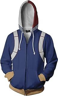 Anime Hoodie 3D Printed Jacket Boku No Hero Academia Sweatshirt Cosplay Costume