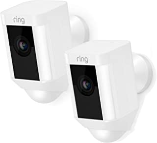 Ring Spotlight CAM Cámara de Seguridad IP Exterior Caja Pared 1920 x 1080 Pixeles - Cámara de vigilancia (Cámara de Seguri...