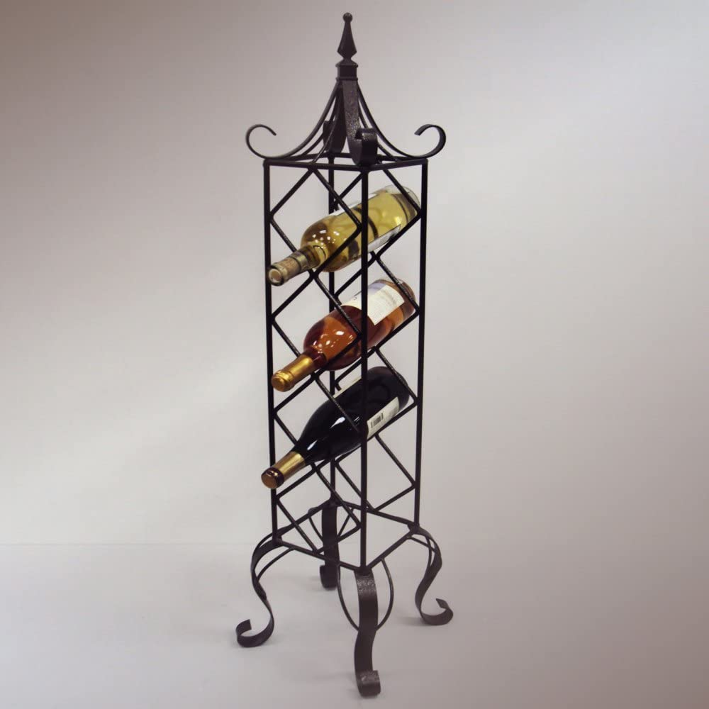 25% OFF Fees free JJ Wire Free Standing Rack Bronze Wine Vertical