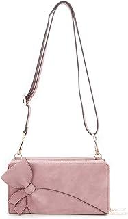 [Mirise] YUME お財布 ショルダー バッグ リボン 正規品 カナダ ブランド ヴィーガン レザー 軽量