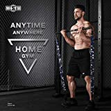 ★OWN YOUR PERSONAL HOME GYM-SAVING $1000 OF DOLLARS: INNSTAR Gym 3.0 is a prefect replacement of workout machine in gym, it could simulate most heavy equipment and machines in gym and increase your workout efficiency. Moreover, this portable set allo...