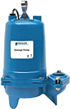 Goulds Water Technology 1-1/2 HP Manual Submersible Sewage Pump, 230 Voltage, 207 GPM of Water @ 15 Ft. of Head - WS1532BHF