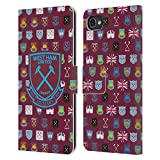 Official West Ham United FC Pattern 5 Crest History Leather