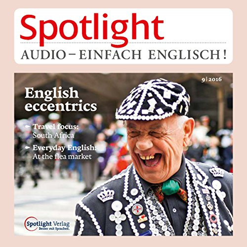 Spotlight Audio - English eccentrics. 9/2016 Titelbild