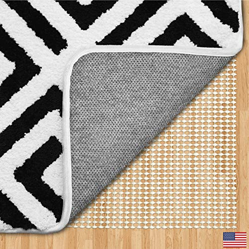 Gorilla Grip Original Area Rug Gripper Pad, 8x10, Made in USA, for Hard Floors, Pads Available in Many Sizes, Provides Protection and Cushion for Area Rugs, Carpets and Floors