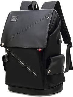 赵凯 School Bag Travel Backpack Large Capacity Computer Backpack Student Bag External USB Interface Traveling Backpack (Color : Black)