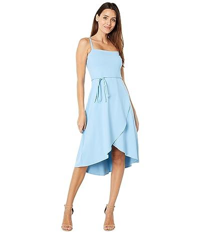 Susana Monaco Faux Wrap Tank Dress