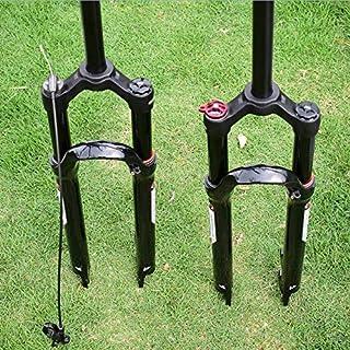 32mm26 27.5 29 Pulgadas Horquilla MTB Suspensión 120mm Viaje Aire Mountain Bike Plug Rendimiento Relación De Precio Más Que Rock Shox Sr Suntour