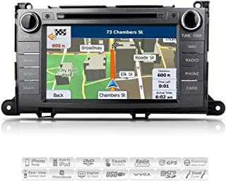 AIMTOM AMN-1906-MB 2011-2014 Toyota Sienna In-dash GPS Navigation Stereo FM AM Radio Bluetooth DVD CD Deck 8