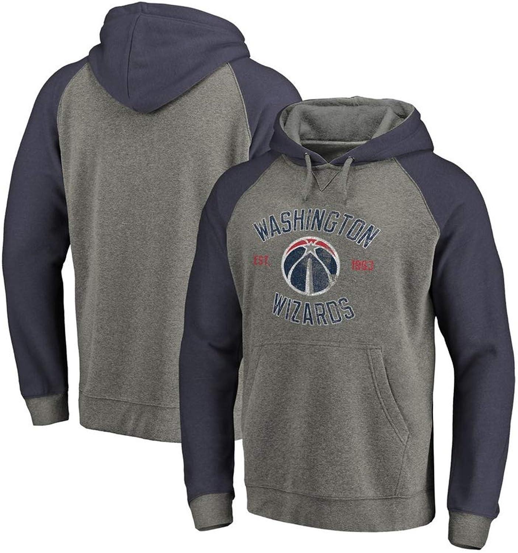 HuWai-Outdoor Hoodie NBA Washington Wizards Basketball Mnner Casual Sport locker komfortable Persnlichkeit Mantel S-3XL