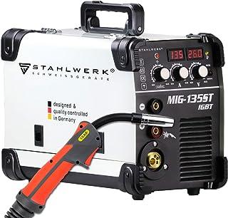 STAHLWERK MIG 135 ST IGBT Equipo de soldadura de gas de prot
