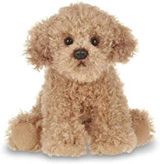 Bearington Lil' Doodles Small Plush Labradoodle Stuffed Animal Puppy Dog, 6.5 inches