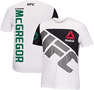Best Reebok Conor McGregor UFC Fight Kit Official (White/Green) Walkout Jersey Men