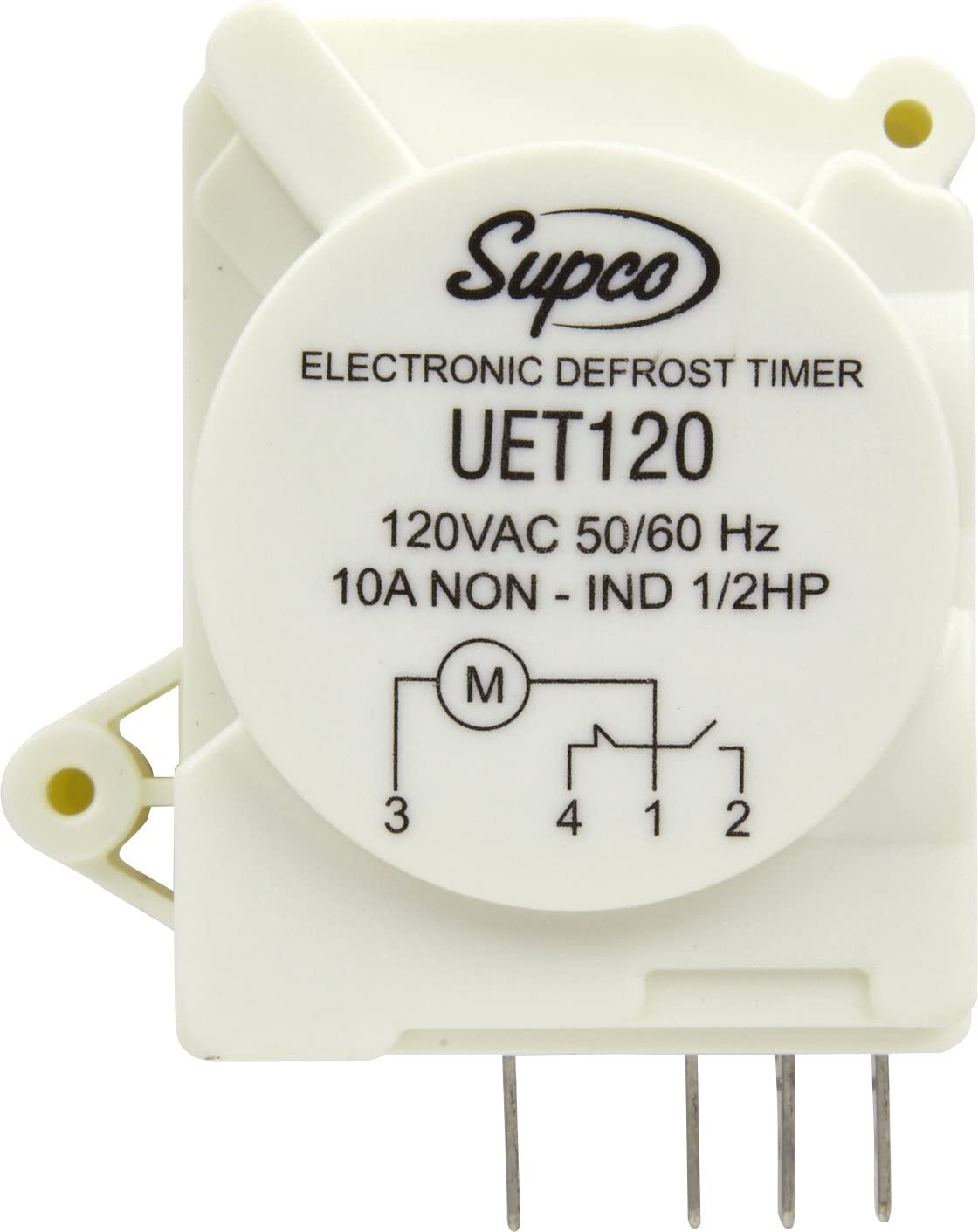 Amazon.com: Supco UET120 Refrigerator Defrost Timer Control Universal 120  Volt Electronic: Home Improvement | Hvac Defrost Timer Wiring |  | Amazon.com
