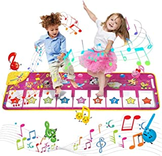 Playmate Musical Mat Piano Mat Baby Musical Game Carpet Mat Musical Instrument Toy Touch Play Keyboard Gym Play Mat for Ki...