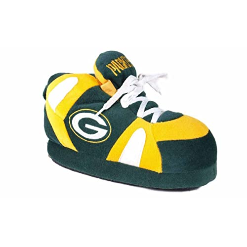 Green Bay Packers 2011 Big Logo Men Slipper Tpr Sole  Extra Large