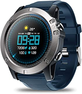 Placextre Waterproof Watches, Sports Watches, Touch Screen Watches, Smart Bluetooth Watch Touching Screen Waterproof Watch Heart Rate Tracking Sports Watches.
