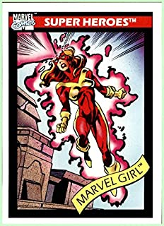 1990 Marvel Universe I #9 Marvel Girl X-Men Jean Grey
