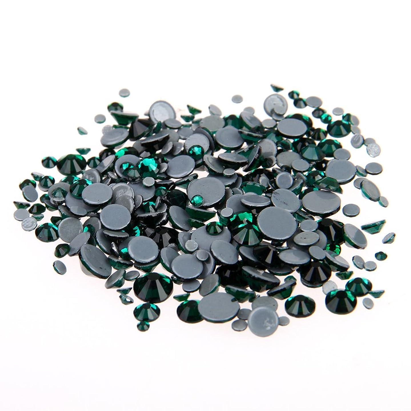 タウポ湖毒液明確にNizi ジュエリー ブランド エメラルド ホットフィックスラインストーン は ガラスの材質 衣類 ネイル使用 型番ss6-ss30 (混合サイズ 1000pcs)