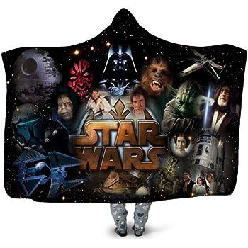 KIDS EUROSWAN Couverture Polaire Star Wars Episode VII Lance-Flammes