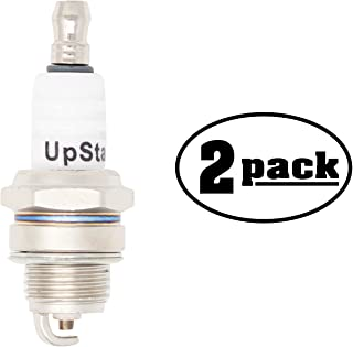 UpStart Components 2-Pack Replacement Spark Plug for JONSERED Chain Saw 451E 451EV452455 510SP 521EV525535 535 Classic - Compatible with Champion RCJ7Y & NGK BPMR6F Spark Plugs