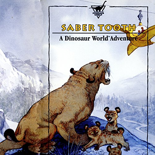 Sabretooth audiobook cover art