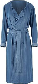 Boho Bird Womens Jackets First Love Soft Fall Duster Jacket Denim - Coats