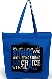 How Strong We are Tote Bag The Darcey (Blue)