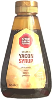 OF THE EARTH SUPERFOODS Organic Dried Yacon Syrup 425ml (PACK OF 1)