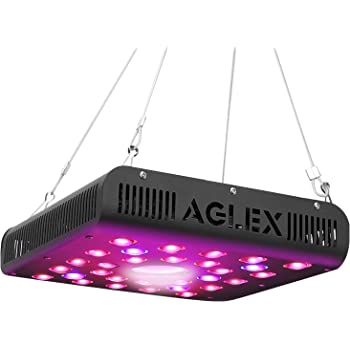 600W LED Plant Grow Light with Thermometer Humidity Monitor with Adjustable R...