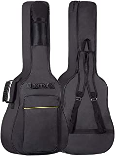 GLEAM Guitar Gig Bag - 0.3 Inch Sponge Padding Fit 41 Inch Acoustic Waterproof