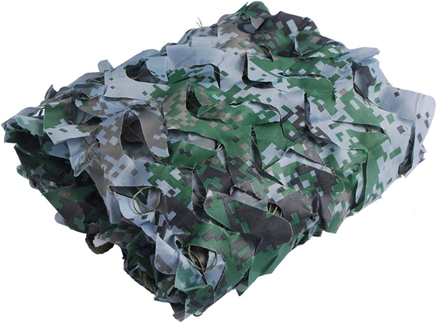Woodland Camouflage Netting Oxford Polyester Army Mesh nets for Sunshade Decoration Hunting Blind Shooting Camping Photography Jungle