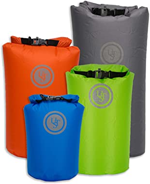 UST Safe & Dry Bag with Water Resistant, Air Tight Construction and Emergency Whistle for Kayaking, Camping, Boating, Floating and Outdoor Survival