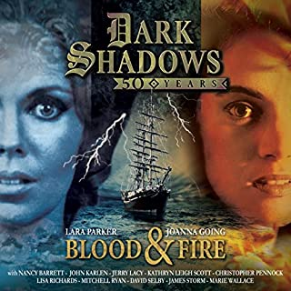 Dark Shadows - Blood & Fire audiobook cover art
