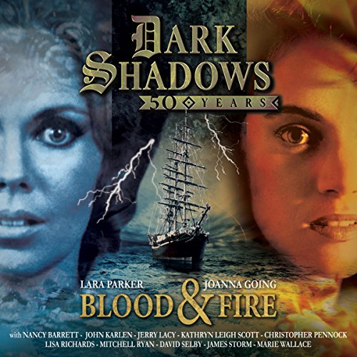 Couverture de Dark Shadows - Blood & Fire