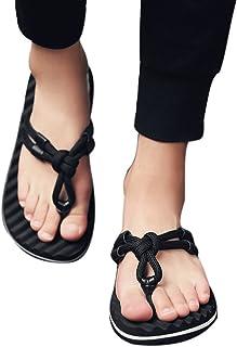 22ef7965a5cc8 LIN Liquidation Tongs Sandales Hommes Été Confort Chaussons Pantoufles  Antidérapant Flats Chambre Chaussures de