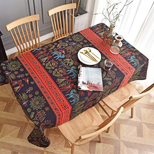 Stain stofdicht Doek Decoratieve tafellaken Rectangle Cotton Linnentafelkleed Long Table Doek Kitchen Eettafel Covers (Color : N, Size : 140 * 240cm)