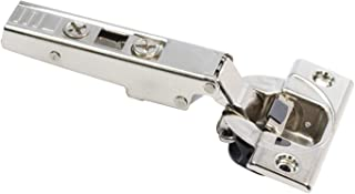 Blum 71B3550 BLUMOTION Full Overlay Screw-On Cabinet Door Hinges with 110-Degree, Nickel