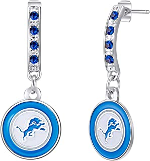 NFL Bar Post Earrings Sports Fan Jewelry Gift Fashion Jewelry Birthday & Holiday Gifts for Women and Girls