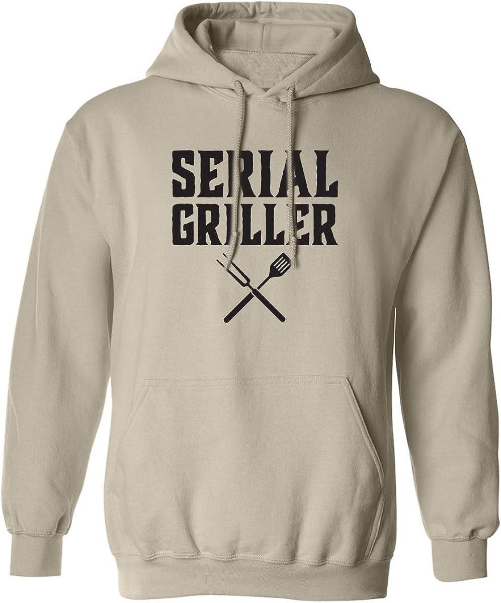 Serial Griller Adult Hooded Sweatshirt