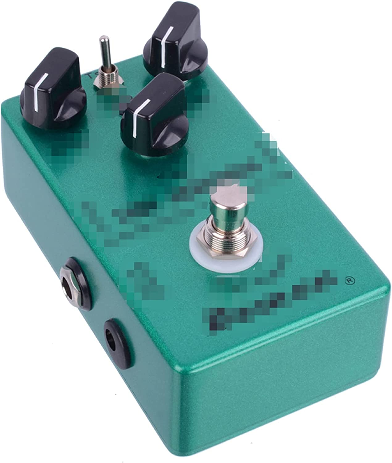 MAOFANG Chengfeng Commodities Ajuste para Demon TS808 Tube Fit para Screamer Fit para Overdrive Pro Vintage Electric Guitar Effect Pedal
