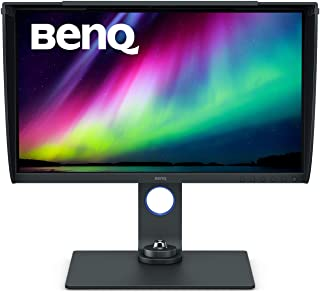 BenQ SW270C 27 Inch PhotoVue Photographer Monitor, 1440P, IPS, Adobe RGB, HDR10