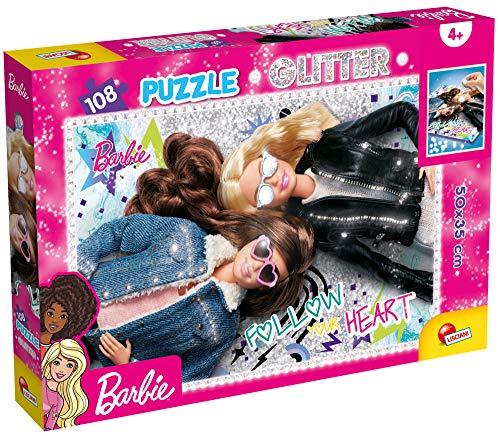 LISCIANI - BARBIE Puzle Glitter 108 piezas (50 x 35 cm) (81189)