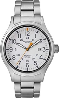 Timex TW2R46700 Military Allied Men's Watch Stainless Steel 40mm Brass