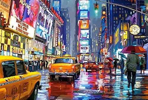 Castorland- Times Square, Puzzle 1000 Teile, Multicolore, 103911-2