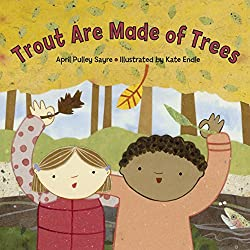 Trout are made from trees book